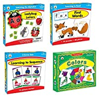Becker's School Supplies Hands-on Fun! Game Set,(Set of 4) [並行輸入品]