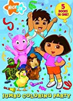 Jumbo Coloring Party (Jumbo Coloring Book)