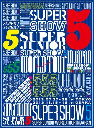 SUPER JUNIOR WORLD TOUR SUPER SHOW5 in JAPAN (3枚組DVD) (初回生産限定盤)