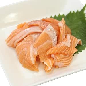 【 冷凍 】 ノルウェー産 サーモン の 切り落とし 500g(100g×5袋) セット 真空パック 鮭 の 切りおとし