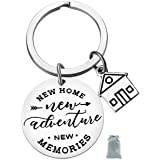 New Home Keychain New Home New Adventures New memories Keychain First Home Gift Housewarming Gift Realtor Closing Gifts House