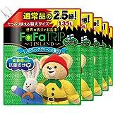 【ケース販売】 ファーファ 濃縮柔軟剤 フィンランド ノルディックグリーンの香り 詰替用特大 1.35L×6個