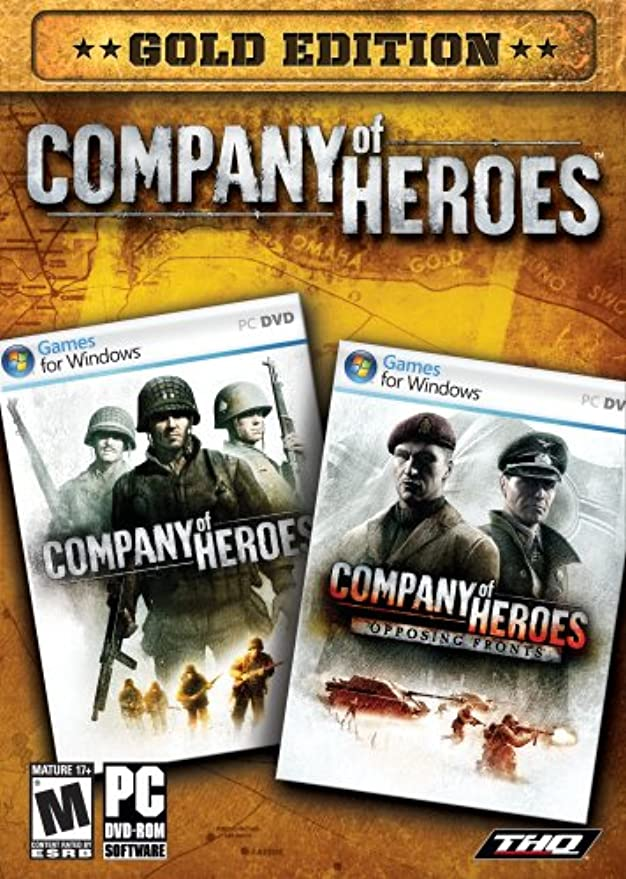 舌弾薬退化するCompany of Heroes: Gold Edition (輸入版)