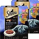 シーバ (Sheba) デュオ 成猫用 香りのまぐろ味セレクション 240g(20g×12袋入り)×2個セット キャットフード ドライ