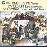 Bizet: L'Arlesienne Suites by Seiji Ozawa (2014-06-18)