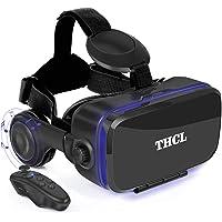 VR ゴーグル VRヘッドセット 「2020新型」 アンチブルーレンズ 3D ゲーム 映画 動画 4.7~6.5インチの iPhone Android などのスマホ対応 ワンクリック受話 Bluetoothリモコン&日本語取扱説明書付属