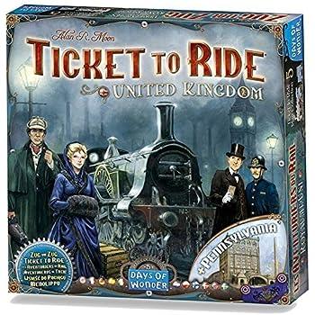 チケット・トゥ・ライド拡張セット イギリス (Ticket To Ride: Map Collection Volume 5 : United Kingdom) [並行輸入品] ボードゲーム