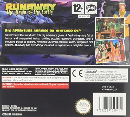 Runaway: The Dream Of The Turtle (NDS) (輸入版) Unknown