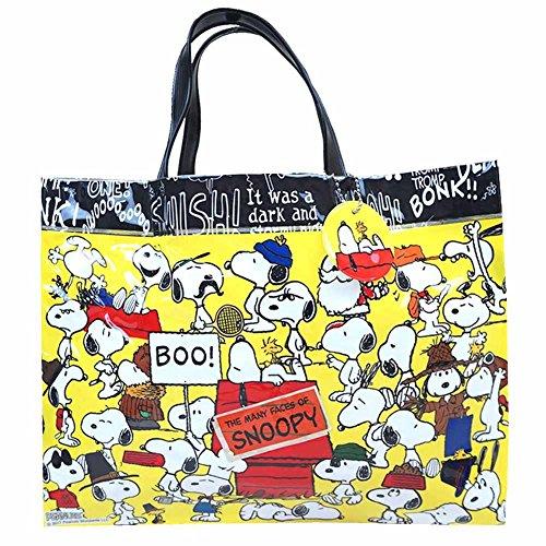 [해외]스누피 수영장 가방 비치 가방 비닐 토트 타입 땅콩 fo-koha83/Snoopy Pool Bag Beach Bag Vinyl Tote Type Peanut fo-koha 83