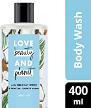 Love Beauty And Planet Coconut Water and Mimosa Flower Petal Soft Body Wash, 400ml