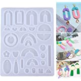 Silicone Pendant Jewelry Earring Making Mold Crystal Jewellry Resin Epoxy Casting Mould Craft Molds DIY Tool Handmade Gift
