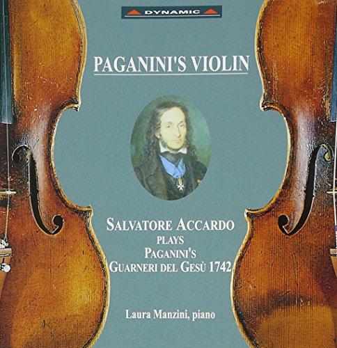 パガニーニのヴァイオリン サルヴァトーレ・アッカルドが奏でる1742年製グァルネリ・デル・ジェス
