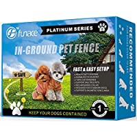 Invisible InGround Dog Fence System (Platinum) - Electric Underground Wired Pet Containment Kit - Keep Your Dog Safely Away From Neighbors And The Road - Your Dog Won't Run Into Traffic Anymore [並行輸入品]