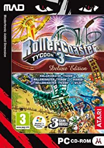 Rollercoaster Tycoon 3 Deluxe (PC) (輸入版)