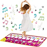 Piano Musical Mat Toys for 2 Year Old Girls, Floor Keyboard Piano Electronic Music Dance Mat for Baby Boy Girl Early Educatio