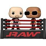 FUNKO POP! Moment: WWE- The Rock vs Stone Cold in Wrestling Ring