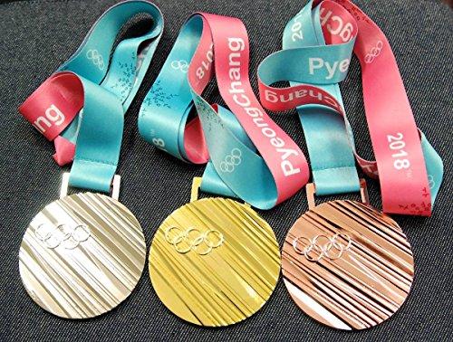 ピョンチャンオリンピック レプリカ金銀銅メダル3種セット 平昌五輪 種目なしタイプ