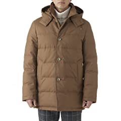 Derby Hood Down G162APDCO0041DX: Camel