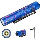 OLIGHT I5UV EOS UV Flashlight 365nm Ultraviolet Black Light Keychain Detector Light Professional for Pet Stains,Hunting Scorp