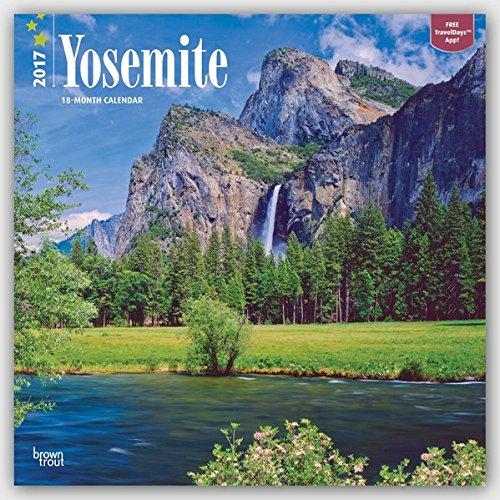 Yosemite 2017 Calendar