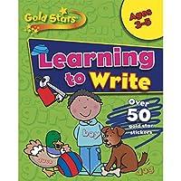 Gold Stars Starting to Write Preschool Workbook (Gold Stars Pre School Workbook)