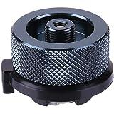 k-outdoor CB缶 変換アダプター OD缶 カセットガスアダプター ガス缶 変換 アダプター 変換プラグ ガスボンベ 簡単に取付 ガス機器 ランタン 家庭用/アウトドア用 漏れ防止 アルミ合金