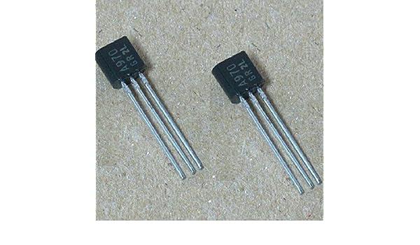 10Pcs 2SA970GR 2S970 A970 Transistor 2SA970-GR in
