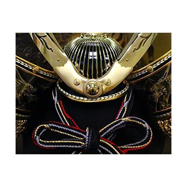 五月人形 兜ケース飾り ゴールドハヤブサ兜 間...の紹介画像4