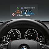 """RED SHIELD Universal Head Up Display HUD Reflective Windshield Film 7.5"""" for All Car Makes and Models. Premium Quality High D"""