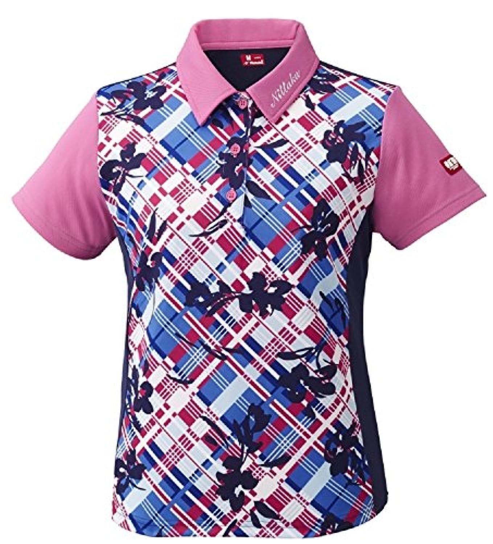 ニッタク(Nittaku) フラチェックスシャツ レディース 卓球用ウェア