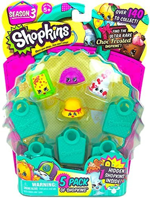 Shopkins Season 3 (5 Pack) Set 12 by Moose Toys [並行輸入品]
