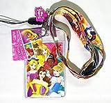 Disney Princess(ディズニープリンセス)Lanyard with Screen Cleaner Dangle(名札 首ひも) [並行輸入品]
