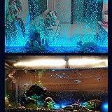 OUYAWEI LED 7 Colors Change Aquarium Light Fish Bowl Submersible Light Air Bubble Lamp European regulations Pet Supplies