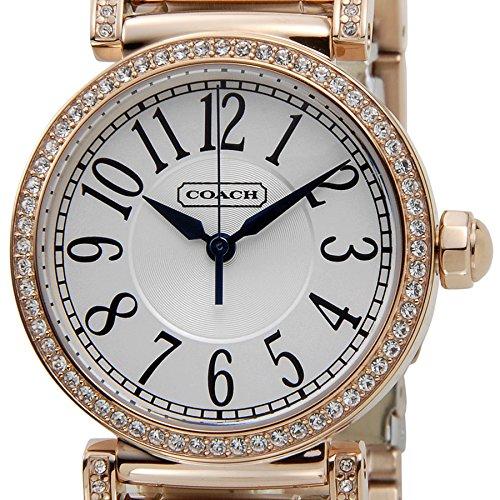 (コーチ)COACH 腕時計 14501726 NEW MADISON ニューマディソン シルバー×ピンクゴールド レディース [並行輸入品]