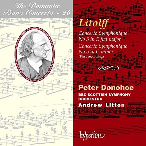 Concertos Symphoniques Nos.3 & 5-Romantic Concerto
