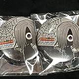 アニメイトカフェ HUNTER×HUNTER アニカフェ (ハンターハンターカフェ) 缶バッジ 幻影旅団 コルトピ セット