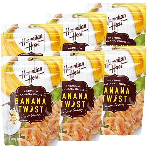 ハワイお土産 ハワイアンホースト バナナツイスト 6袋セット