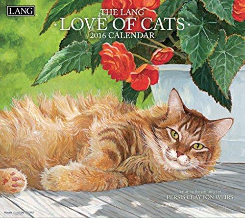 Lang Love of Cats 2016 Wall Ca...