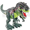 Genmine 電動 恐竜 おもちゃ ティラノサウルス 発声 発光 歩く お子さんお孫さんも大喜び ダイナソー モデル 動物 おもちゃ