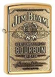 BEAMS ZIPPO(ジッポー) Jim Beam (ジム ビーン) ライター 254BJB.929 Brass Emblem [並行輸入品]