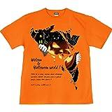 [GENJU] Tシャツ ハロウィン 黒猫 チーム イベント スポーツジム こうもり 蝙蝠 カボチャ かぼちゃ HALLOWEEN 裏もデザインありメンズ キッズ
