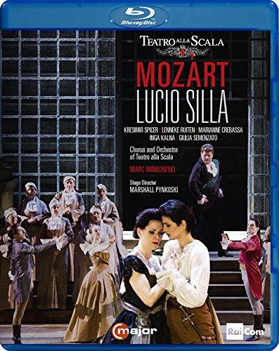 モーツァルト : 歌劇 「ルーチョ・シッラ」 (全曲) (Mozart : Lucio Silla from Teatro Alla Scala / Marc Minkowski | Chorus and Orchestra of Teatro Alla Scala) [Blu-ray] [輸入盤] [日本語帯・解説付]