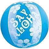 ドウシシャ ビーチボール SayAloha ブルー 60㎝