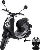 【Amazon.co.jp限定】 電動バイク XEAM notte V2 クールブラック【限定特典】 専用ヘルメット クールブラック XM-AZNCBKHGCBK