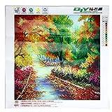 nnda Co DIY 5d Autumn GardenダイヤモンドPainting Forest工芸刺繍クロスステッチ、1set