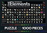 The Elements: A Visual Exploration of Every Known Atom in the Universe - 1,000 Pieces