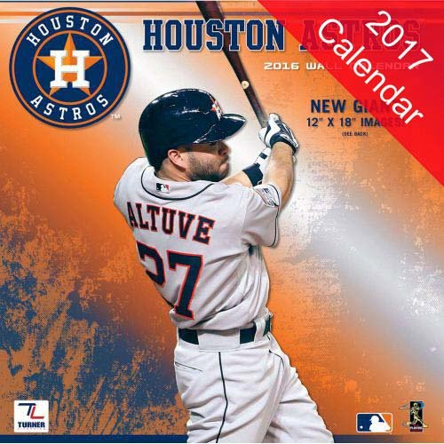 Houston Astros 2017 Calendar
