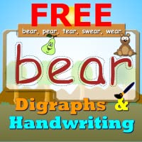 Digraphs Writing pad and Spellings For Preschoolers Free