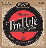 D'Addario ダダリオ クラシックギター弦 EXPコーティング Silver Wound Normal EXP45 【国内正規品】