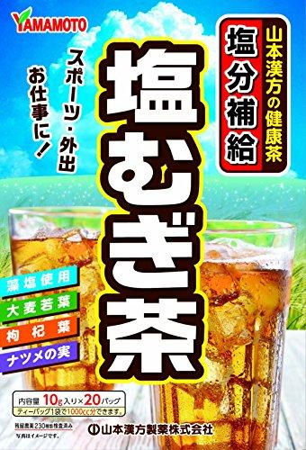 山本漢方製薬 塩むぎ茶 20包入